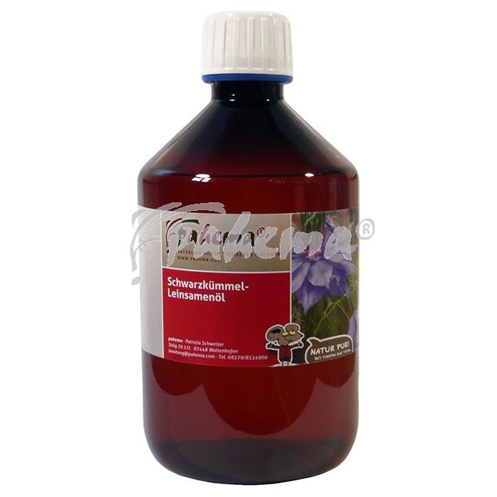 Produktbild: Schwarzkümmel-Leinöl