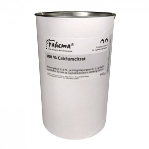 Calciumcitrat - Dose