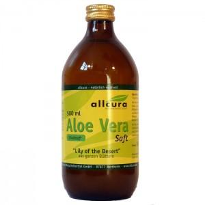 allcura - Aloe Vera Saft (Verpackung)