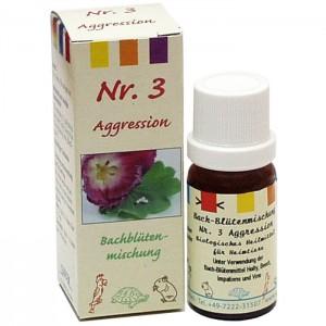 Bachblüten - Nr. 3 - Aggression